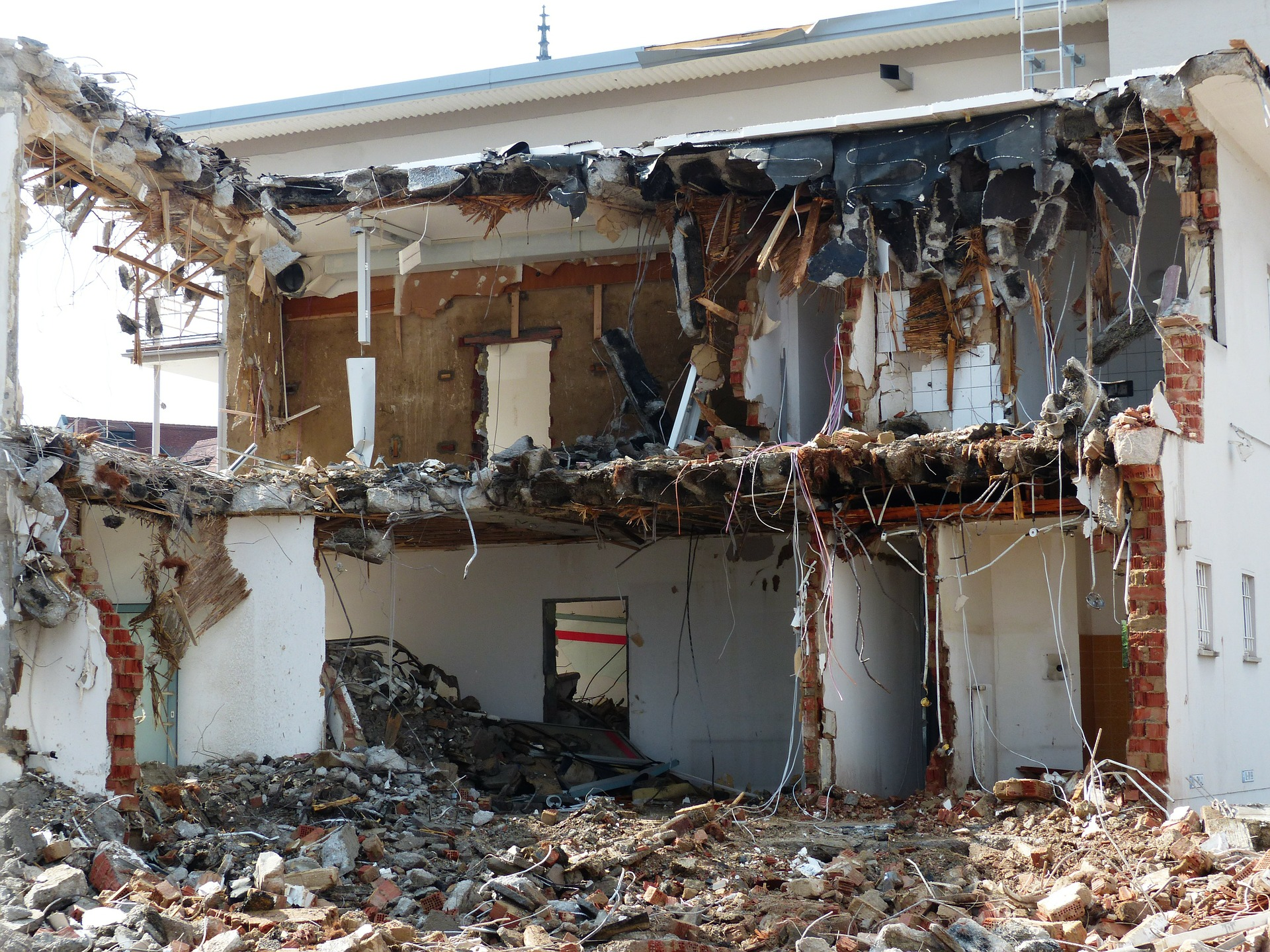 Southern California House Demolition
