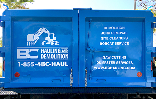 BC Hauling Clean-up, Junk Removal Truck