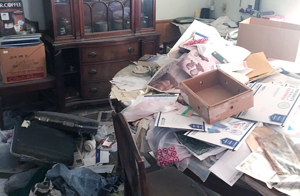 Abandon debris clean-up service