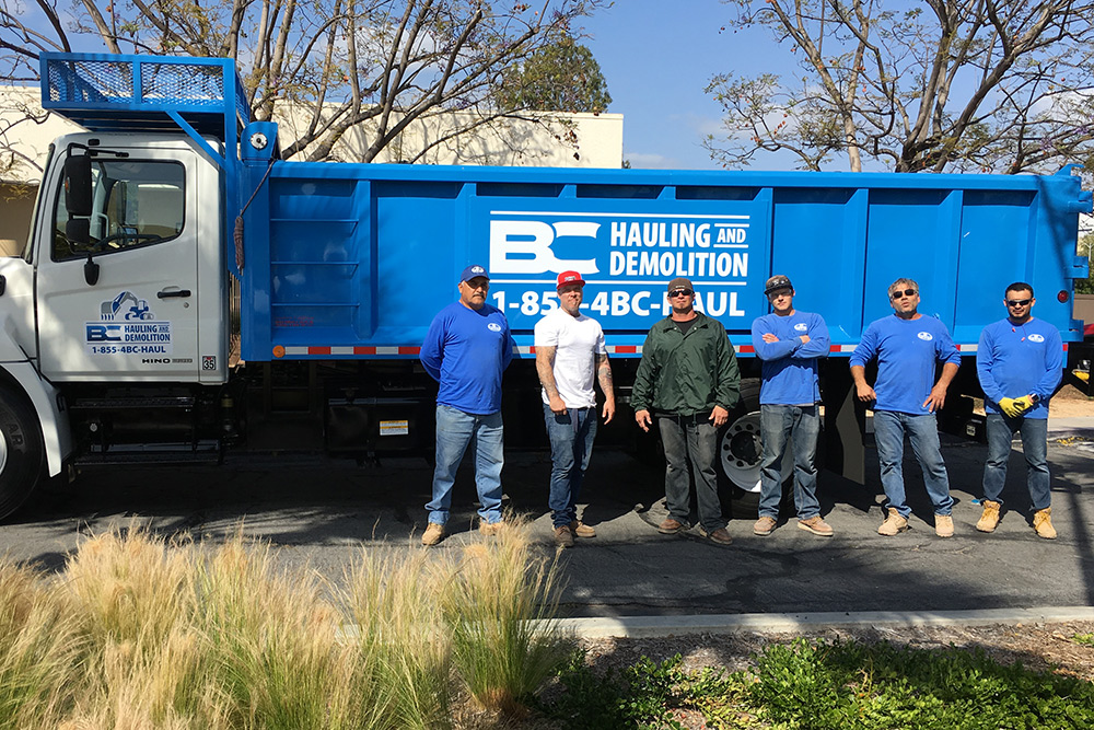 BC Hauling Junk Removal Team